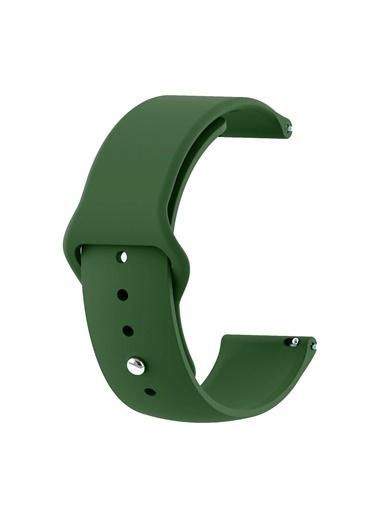 Microsonic Realme Rma207 Watch S Silicone Sport Band Açık Yeşil Yeşil